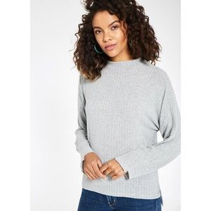 Project Social T Amelie Cozy Mock Neck Pullover